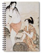 Japan: Abalone Divers Spiral Notebook
