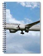 Japan Airlines Boeing 787 Dreamliner Spiral Notebook