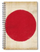 Japan Flag Spiral Notebook