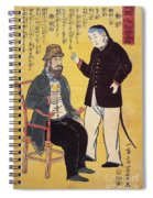 Japan: French Trade, 1861 Spiral Notebook