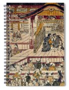 Japan: Kabuki Theater Spiral Notebook