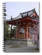 Japan Kiyomizu-dera Temple Spiral Notebook