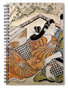 Japan: Lovers Spiral Notebook