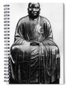 Japan: Zen Priest Spiral Notebook