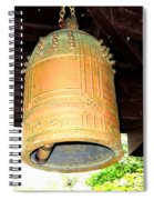 Japanese Bell Spiral Notebook