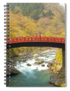 Japanese Bridge Spiral Notebook
