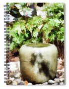 Japanese Garden 6 Spiral Notebook