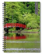 Japanese Garden Bridge  Spiral Notebook