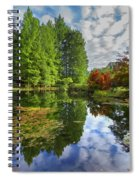 Japanese Garden Pond I Spiral Notebook