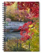 Japanese Gardens Spiral Notebook