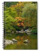 Japanese Gardens Spiral Notebook