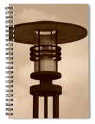 Japanese Lamp Spiral Notebook