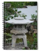 Japanese Lantern Spiral Notebook