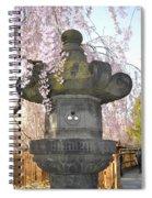 Japanese Lantern Spiral Notebook