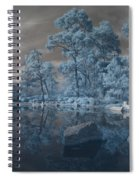 Japanese Tea Garden Infrared Center Spiral Notebook