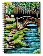 Japanese Tea Gardens Spiral Notebook