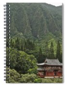 Japanese Temple Spiral Notebook