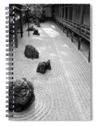 Japanese Zen Garden Spiral Notebook