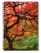 Japenese Garden, Portland Spiral Notebook