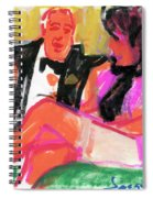 Jacque And Christine Spiral Notebook