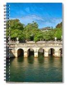 Jardins De La Fontaine Nimes Spiral Notebook
