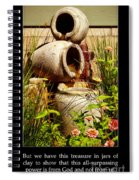 Jars Of Clay Spiral Notebook
