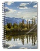 Jasper Glory Rocky Mountain View Spiral Notebook