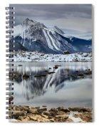 Jasper Medicine Lake Reflections Spiral Notebook