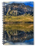 Jasper Pyramid Lake Reflections Spiral Notebook