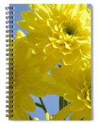 Yellow Trio Spiral Notebook