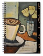 Java Love Poster Spiral Notebook