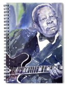 Jazz B B King 01 Spiral Notebook