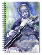 Jazz B B King 02 Spiral Notebook