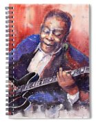 Jazz B B King 06 A Spiral Notebook