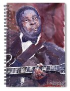 Jazz B B King Spiral Notebook