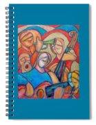 Jazz Ballad Spiral Notebook