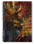 Jazz Bass Guitarist Spiral Notebook