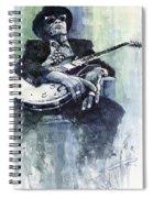 Jazz Bluesman John Lee Hooker 04 Spiral Notebook