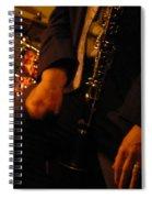 Jazz Clarinet Spiral Notebook