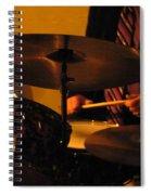 Jazz Drums Spiral Notebook