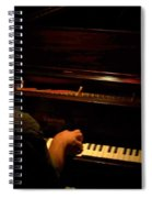 Jazz Estate 11 Spiral Notebook