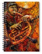 Jazz Gold Jazz Spiral Notebook