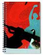 Jazz Goose Spiral Notebook