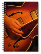 Jazz Guitar  Spiral Notebook