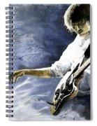 Jazz Guitarist Last Accord Spiral Notebook