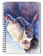Jazz Guitarist Rene Trossman Spiral Notebook