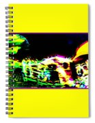 Jazz Horn And The Abstract Truth Spiral Notebook