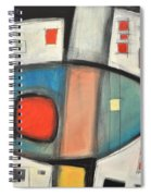 Jazz Improv 081510a Spiral Notebook