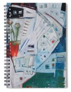 Jazz In Bloom Spiral Notebook