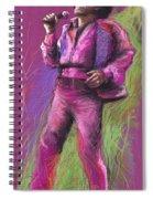 Jazz James Brown Spiral Notebook